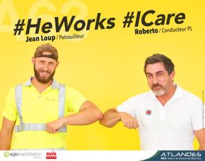 He Works I Care 2020